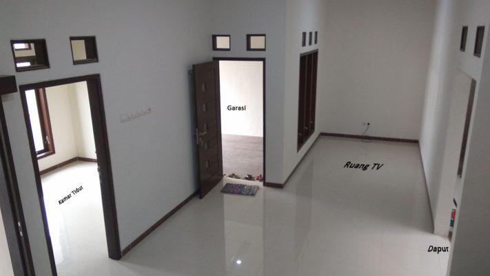 Desain Dapur Dekat Garasi rumah mewah di jl padang padi kaliombo erka properti